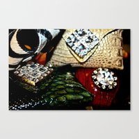 Jersey Glam Canvas Print