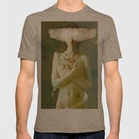 Eve's temptation Mens Fitted Tee Tri-Coffee SMALL