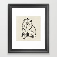 My Dog Loves Gin No.2 Framed Art Print