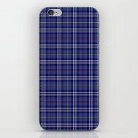 Citadel Military Acedemy Tartan iPhone & iPod Skin