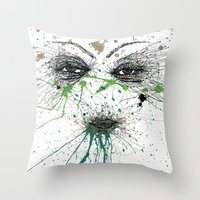 Georgia On My Mind Throw Pillow