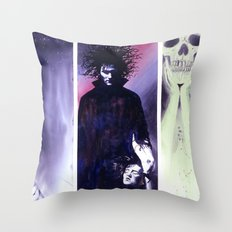 Sandman: Triptych Throw Pillow