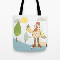 sunny rooster Tote Bag