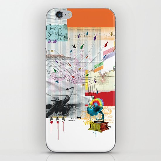 War Antheme iPhone & iPod Skin