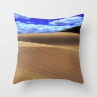 Desert Dunes Throw Pillow