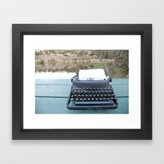 Darling Framed Art Print