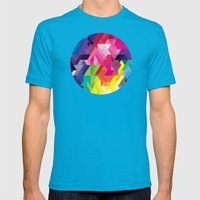 Feathers Mens Fitted Tee Teal SMALL