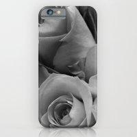 Roses Black & White #4 iPhone 6 Slim Case