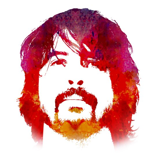 D. Grohl Canvas Print