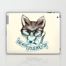 The Mischievous Mr. Fox Laptop & iPad Skin
