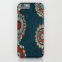 iPhone & iPod Case featuring Vintage Mandala Pattern by Robin Curtiss