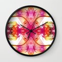 Smoke Art 80 Wall Clock