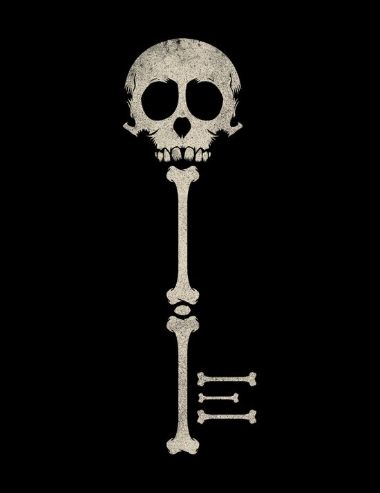 Skeleton Key Canvas Print