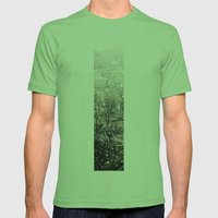 Snow in early fall(1)  Mens Fitted Tee Grass SMALL