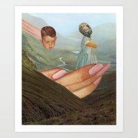 The Gift Art Print