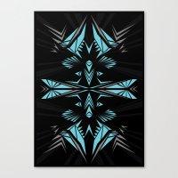Mint shape Canvas Print