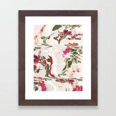 Flowering Framed Art Print