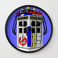 Tardis-1 Wall Clock