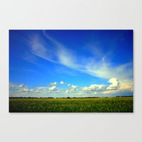 Fields Of Barley Canvas Print