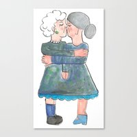My Grandma's Are Lesbian… Canvas Print