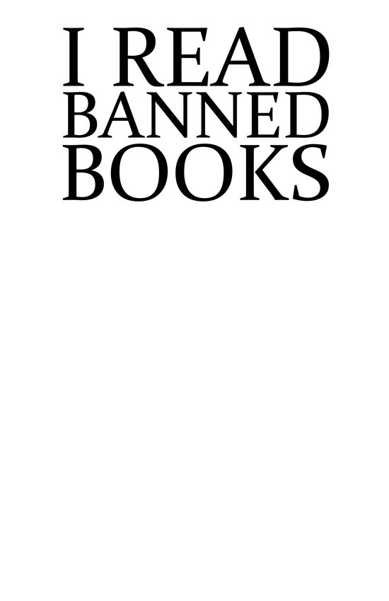 Banned Books Art Print