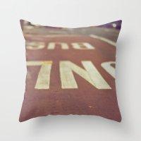 Urbanscape Throw Pillow