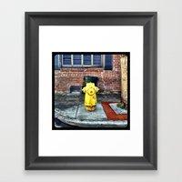 Hydrant. Framed Art Print