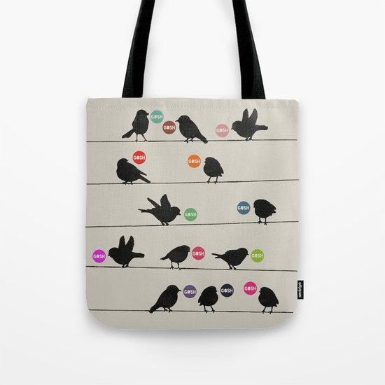 Birdsong Gosh by Rachel Burbee & Garima Dhawan Tote Bag