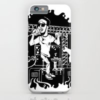 Man on the moon iPhone 6 Slim Case