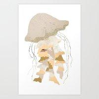 Jelly Paper #1 Art Print