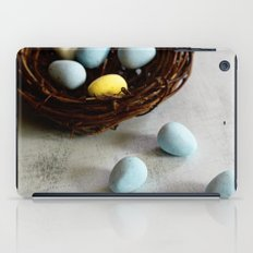 Robin's Eggs and Nest iPad Case