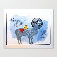 LAMA. Canvas Print