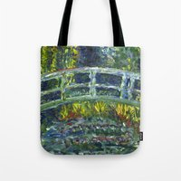 Monet Interpretation Tote Bag