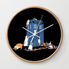Who Cats Wall Clock