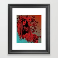UZU60's IV Framed Art Print