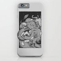 iPhone & iPod Case featuring Tents Attack!  by BEADLER Design and Illustration