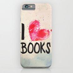 I Heart Books Typography… iPhone 6 Slim Case