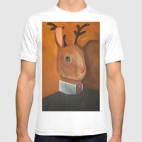 Marcus Jackalope, Esquir… Mens Fitted Tee White SMALL