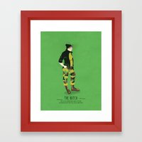 The Butch - A Poster Guide to Gay Stereotypes Framed Art Print