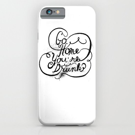 GO HOME iPhone & iPod Case