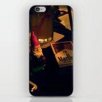 Gnorman & His smokes iPhone & iPod Skin