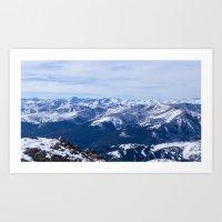 Mt. Bierstadt Summit Art Print