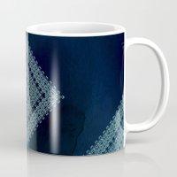 Deep Blue Diamonds Mug