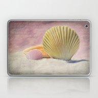 Vintage Shells Laptop & iPad Skin