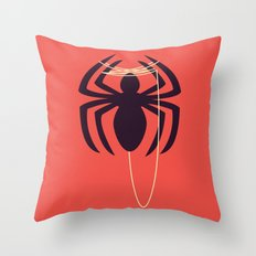 The Amazingly Bored Spid… Throw Pillow