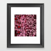 :: Pink Noise Ordinance :: Framed Art Print