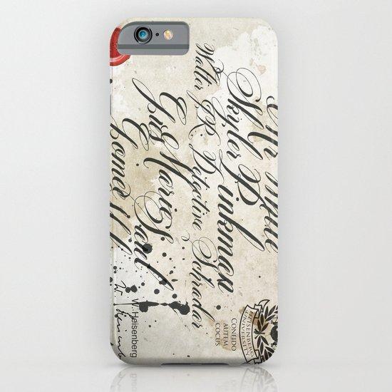Heisenberg University iPhone & iPod Case