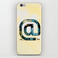 At Sign {@} Series - Silom Typeface iPhone & iPod Skin