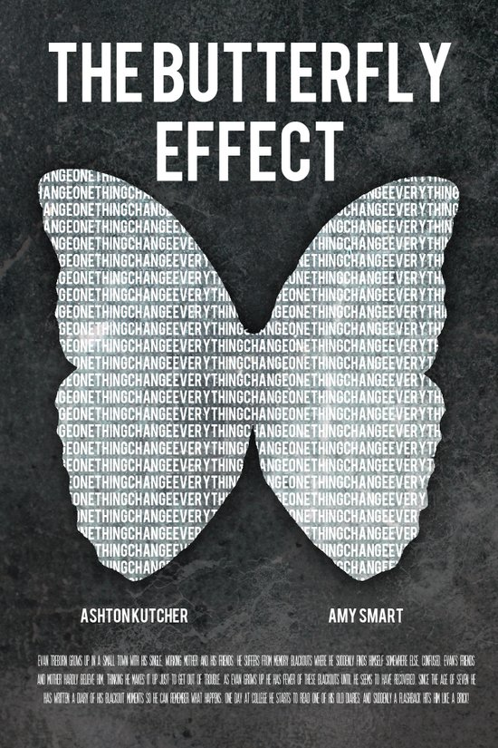 the butterfly effect film poster Art Print