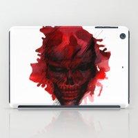 Red Skull iPad Case